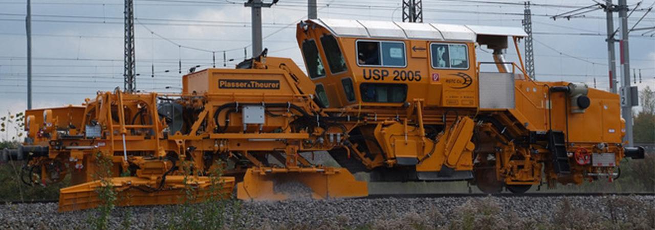 DSV Constructora y Ferroviaria. Perfiladora