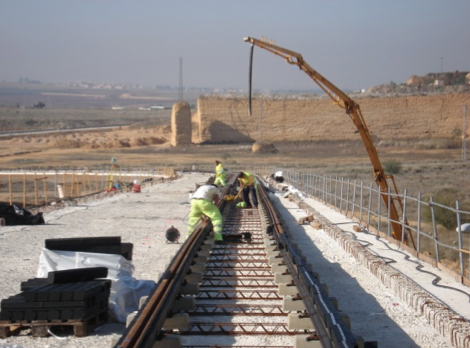 DSV. trabajos ferrocarril